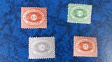 Romania timbre 1866-1878 ddsg posta locala dunareana dantelata, Nestampilat