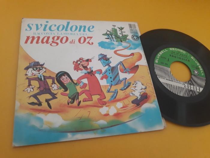 VINIL SVICOLONE RACCONTA LA STORIA DEL MAGO DI OZ DISC HANNA BARBERA STARE FB