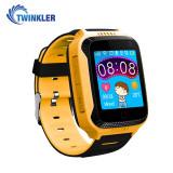 Ceas Smartwatch Pentru Copii Twinkler TKY-Q529 cu Functie Telefon, Localizare GPS, Camera, Pedometru, SOS - Galben