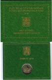 VATICAN moneda 2 euro comemorativa 2018 - Patrimoniu Cultural, folder BU