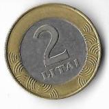 Moneda 2 litai 1999 - Lituania