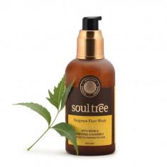 Gel curatare ten cu nutgrass, 120 ml - Soultree