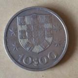 Portugalia 10 escudos 1971