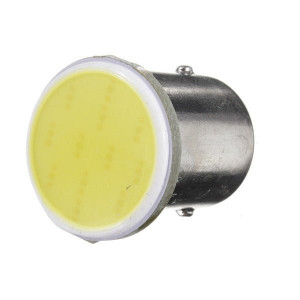 Bec cireasa 3W COB BA15S lumina alba 12V ( Tip vechi SIMETRIC )