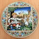 Farfurie - decorativ /colectie - Heinrich / Villeroy and Boch - Visul copilariei