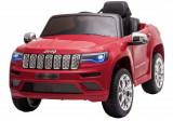 Cumpara ieftin Masinuta electrica Premier Jeep Grand Cherokee, 12V, roti cauciuc EVA, scaun piele ecologica, rosu