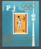 Mongolia.1972 Olimpiada de vara MUNCHEN-colita  LX.62