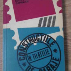 CONSTRUCTIILE DE BARAJE IN FILATELIE - IOAN BAGDASSAR SAHINIAN