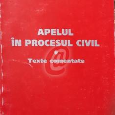 Apelul in procesul civil - texte comentate