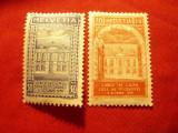 Serie Elvetia 1924 - Case vechi , 2 valori