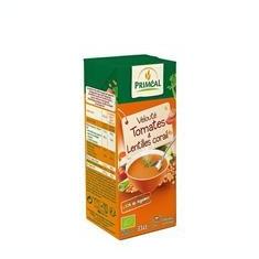 Supa Crema de Rosii si Linte Rosie Bio 330ml Primeal Cod: 3380380089992