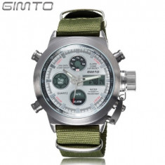 GIMTO ceas military army sport dual core