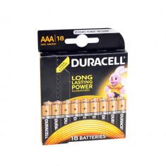 Aproape nou: Baterie alcalina Duracell AAA sau R3 cod 81483686 blister cu 18bc