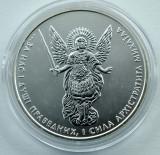 UCRAINA - 1 Hryvnia 2013 - Arhanghelul Mihail - uncie argint 31.1 gr. - 999/1000