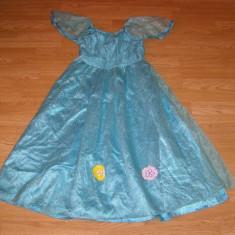costum carnaval serbare rochie babrie printesa pentru copii de 6-7-8 ani