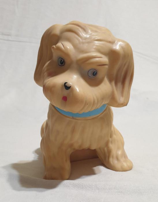 Jucarie veche comunista de colectie figurina cu Ștanță Arădeanca Cățel ZDREANȚĂ