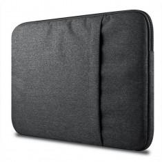 Husa Upzz Tech Protect Sleeve Pentru Laptop 13-14 Inch ,macbook Pro 13 Inch ,dark Grey