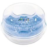 Sterilizator pentru cuptorul microunde Philips AVENT SCF281/02-1, Alb