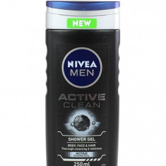 Nivea Gel de dus Barbati 250 ml Active Clean