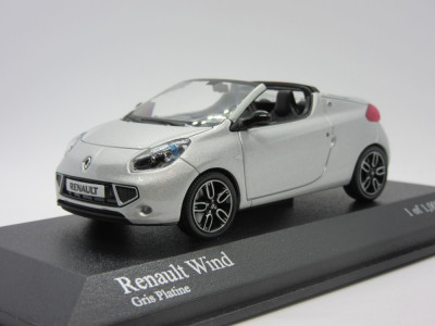 Macheta Renault Wind Minichamps 1:43 foto