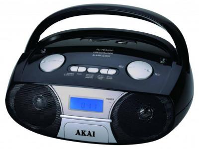 Radio portabil Akai APRC-106 Bluetooth / USB / SD Negru foto