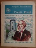 Grigore Alexandrescu - Poezii. Proza (ed Ion Creanga)