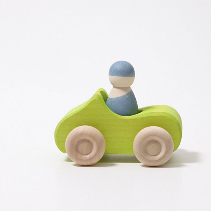 Masinuta cu sofer, verde