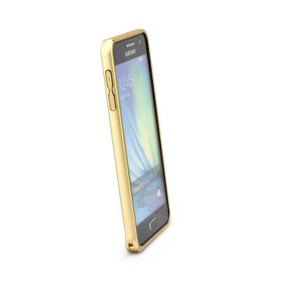 Bumper Aluminiu SAMSUNG Galaxy S6 Edge Plus (Auriu) foto