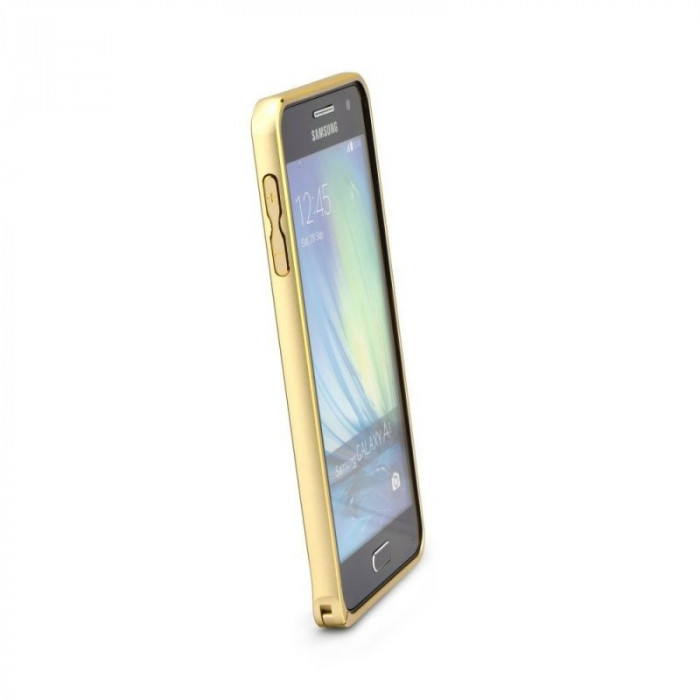 Bumper Aluminiu SAMSUNG Galaxy S6 Edge Plus (Auriu)