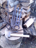Clesti unelte  vechi fierarie- potcovar
