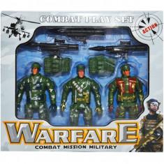 Soldati cu arme in cutie Set 3