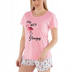 Pijama dama Flamazing, scurta, Selena Secrets