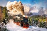 Puzzle Castorland - 1000 de piese - Steam Train