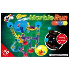 Super Marble Run - Set reflectorizant - 60 piese PlayLearn Toys, Galt