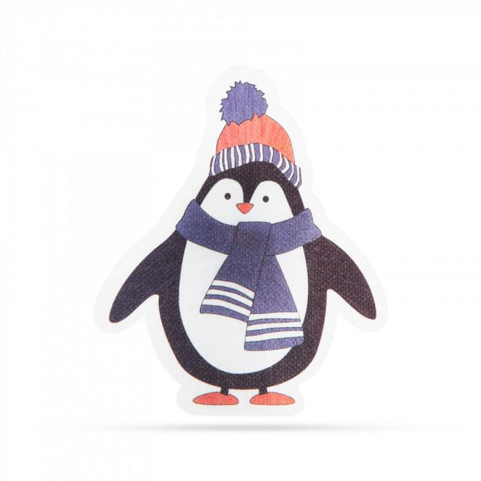 Decoraţie de Crăciun cu LED RGB - autocolant - model pinguin Best CarHome