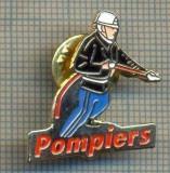 Y 1037 INSIGNA - POMPIERS - POMPIERI -PENTRU COLECTIONARI
