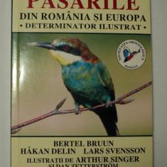 Pasarile din Romania si Europa, determinator ilustrat, 1999, Hamlyn Guide