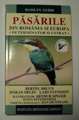 Pasarile din Romania si Europa, determinator ilustrat, 1999, Hamlyn Guide foto