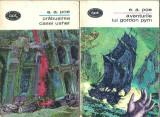 Aventurile lui Gordon Pym - E. A. Poe ( 2 volume, BPT nr. 289, 290 )