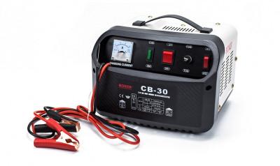 Redresor Incarcator Baterii Auto Boxer CB-30, 12/24V, 25A, Functia Boost de Incarcare Rapida foto