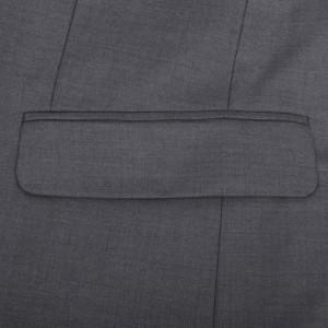 Costum business 3 piese pentru bărbați, mărime 46, gri antracit