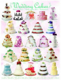 Puzzle Eurographics - 1000 de piese - Wedding Cakes