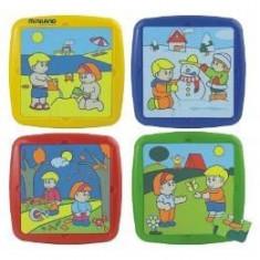 Set de 4 puzzle