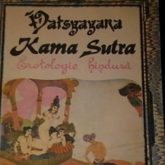 KAMA SUTRA-VATSYAYANA-ARTA HINDUSA A IUBIRII FIZICE-TRAD.SIMONA SUTDULESCU-182PG