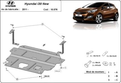 Scut motor metalic Hyundai i30 2011-2014 foto