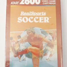 Joc Atari 2600 Real Sports Soccer - nou sigilat