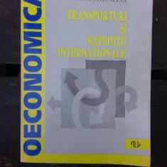 TRANSPORTURI SI EXPEDITII INTERNATIONALE - CONSTANTIN ALEXA
