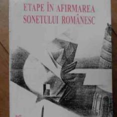 Etape In Afirmarea Sonetului Romanesc - A. Voica ,522099