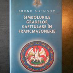 IRENE MAINGUY - SIMBOLURILE GRADELOR CAPITULARE IN FRANCMASONERIE (2012), Rao