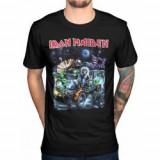 Tricou Unisex Iron Maiden: Knebworth Moon Buggy